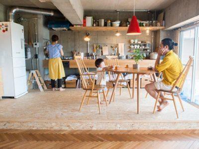「ゼロリノベ」のマンションリノベーション事例「家づくりを楽しめるのがリノベの醍醐味。住み始めたらもっと好きに。」
