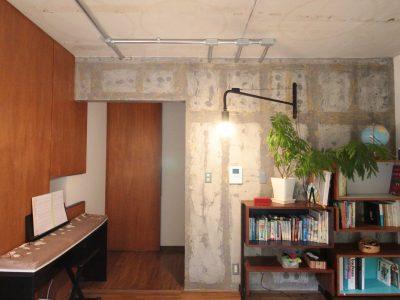 「湘南リフォーム」のマンションリノベーション事例「クール×レトロ、部分リノベーションでイメージ通りの空間に」