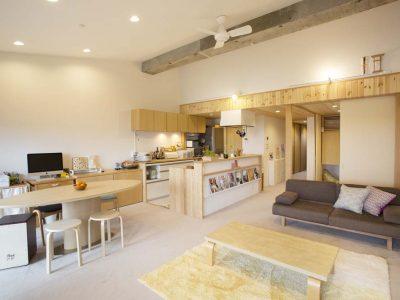 「スタイル工房」のマンションリノベーション事例「やりたいことを詰め込んだ、温もりと快適さに満たされた住まい」