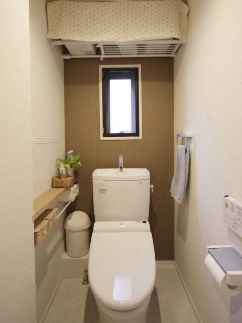 マンションリノベーション、スタイル工房、トイレ、TOTO、コルクタイル、珪藻土、DIY