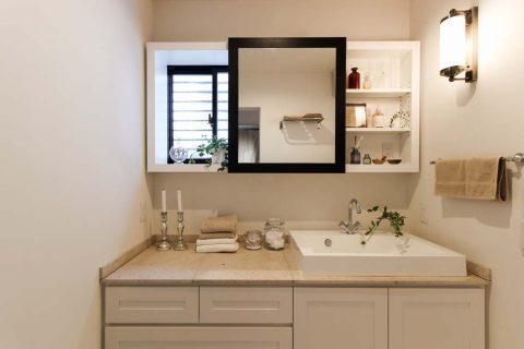 住工房、愛知、リノベーション、戸建リノベーション、洗面台、洗面収納