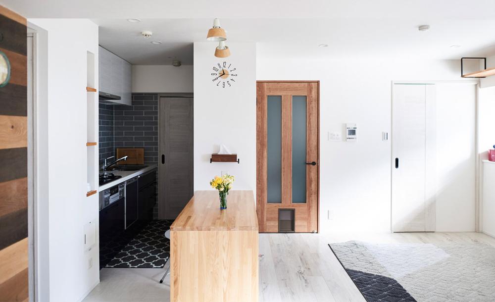 「インテリックス空間設計」のリノベーション事例「大切な愛猫とこれからも一緒に。家族の時間を重ねたマンションをフルリノベーション」