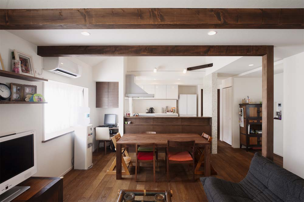 「スタイル工房」のリノベーション事例「自由な発想やこまやかな工夫で、ゆったりと快適に暮らせる二世帯に」