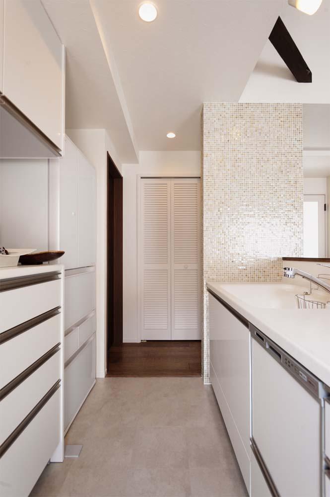 二世帯住宅,戸建てリノべ,スタイル工房,家事導線の確保,洗濯がラク
