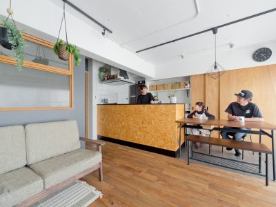 「ハコリノベ(SUN REFORM)」のリノベーション事例「念願だった書斎とロフトも実現。遊び心にあふれるマンションリノベ」