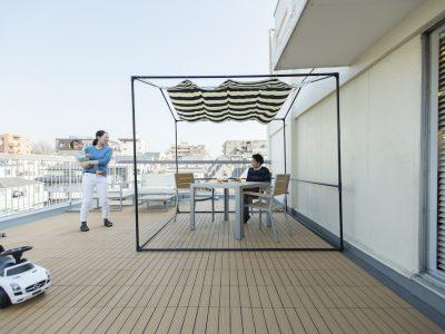 「ゼロリノベ」のマンションリノベーション事例「ルーフバルコニーを生かして子育ても快適!光と風が巡るマンションリノベ」
