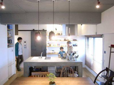 「ゼロリノベ」のリノベーション事例「48平米でも家族3人がのびのび過ごせるマンションリノベ」
