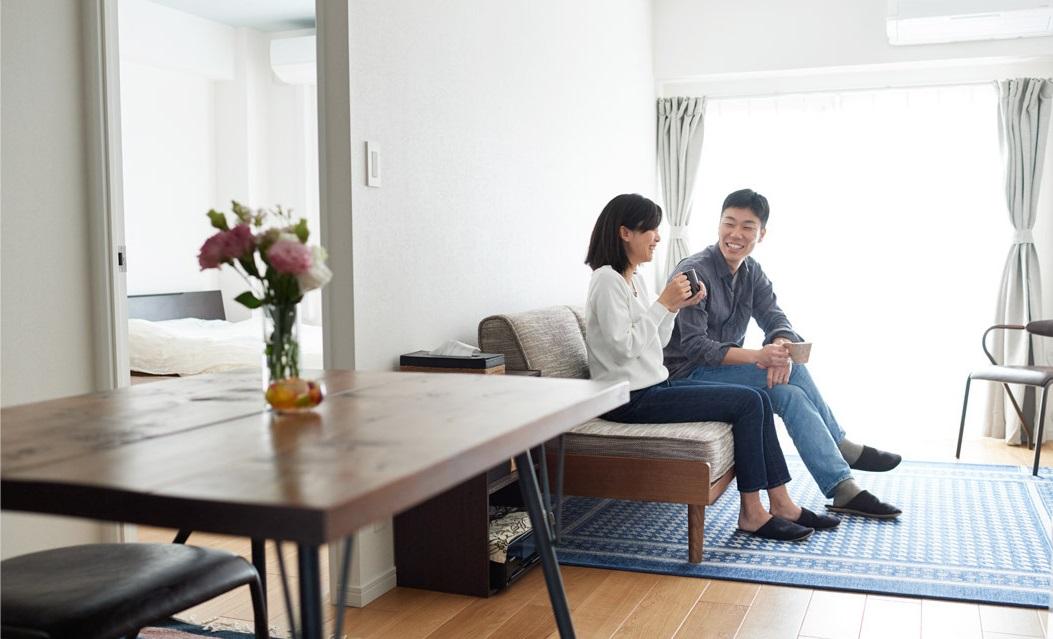 「インテリックス空間設計」のリノベーション事例「玄関土間の趣味スペースを第一に、暮らしに寄り添うシンプルリノベーション」