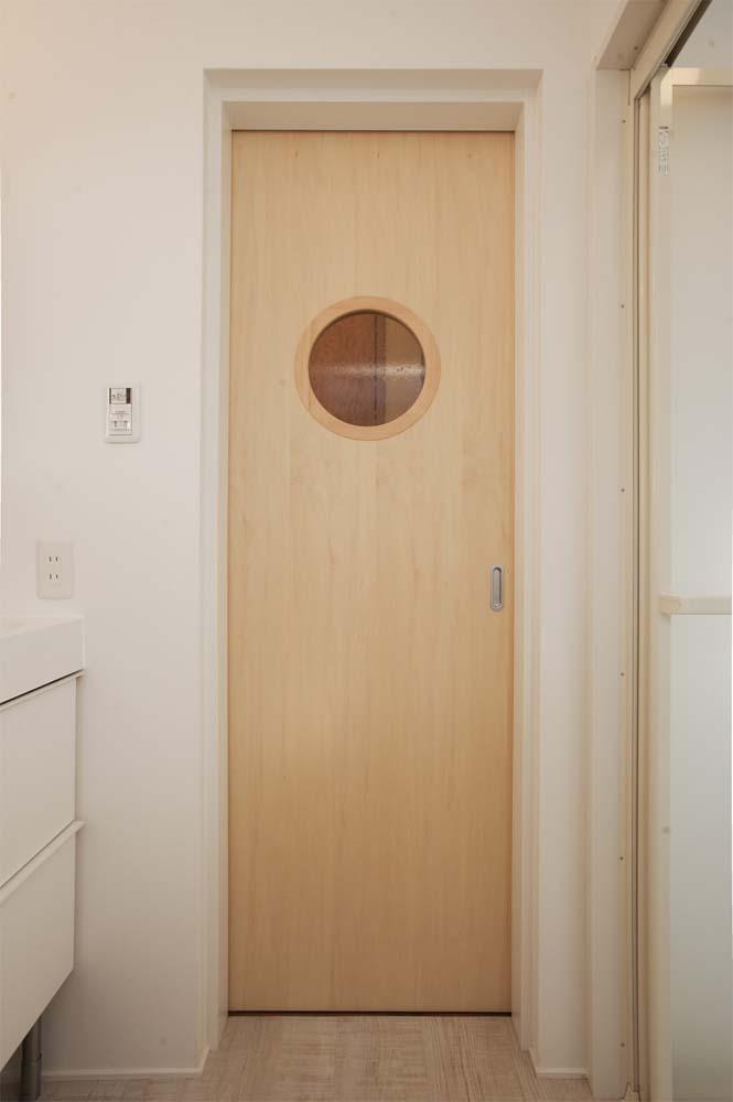 実家リノベーション,戸建てリノベーション,洗面室,浴室,DIY