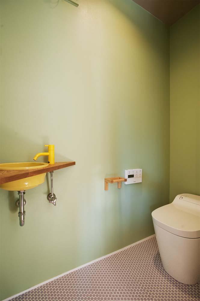 実家リノベーション,戸建てリノベーション,トイレ,洗面ボウル
