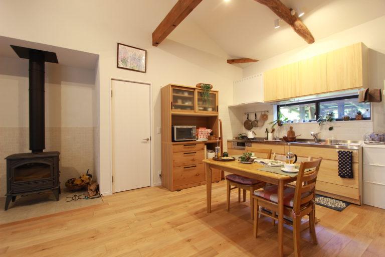 「住工房株式会社」のリノベーション事例「平屋で暮らす。DIYと好きな自然素材を取り入れたリノベーション。」