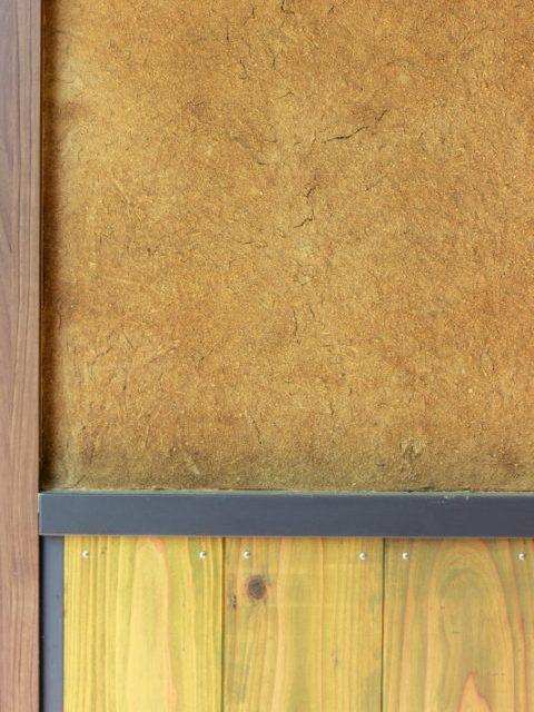 戸建てリノベーション、住工房株式会社、土壁、外壁DIY、杉板