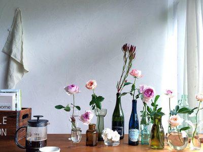 「リノベの最新情報」の「花のある暮らし」