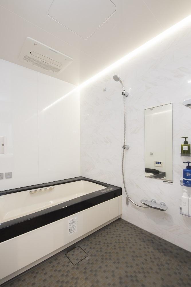 野村不動産リフォーム,マンションリノベーション,バスルーム,サイズアップ,スパージュ