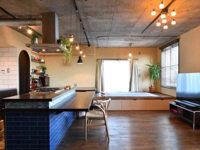 「株式会社 錬(れん)」のマンションリノベーション事例「大容量のパントリーのおかげでキッチンがいつもスッキリ!【マンションリノベ新・3種の神器】」