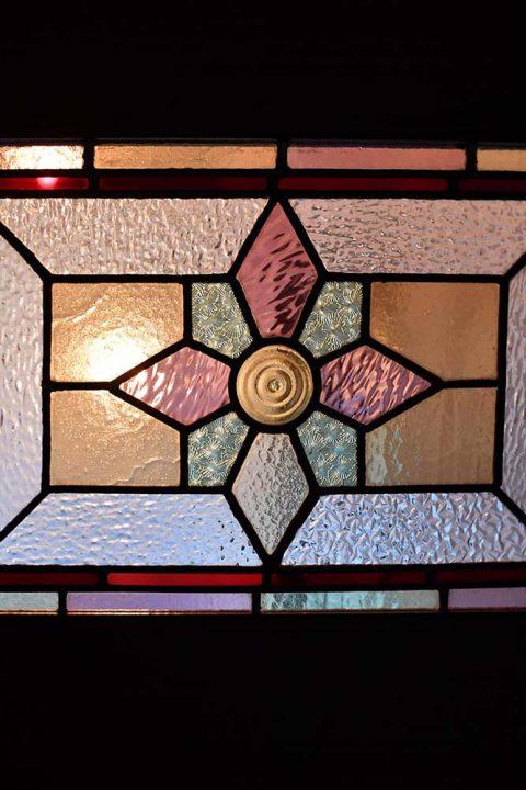 マンションリノベーション、錬、川崎市、リノベーション、造作ドア、アンティークガラス、ステンドグラス