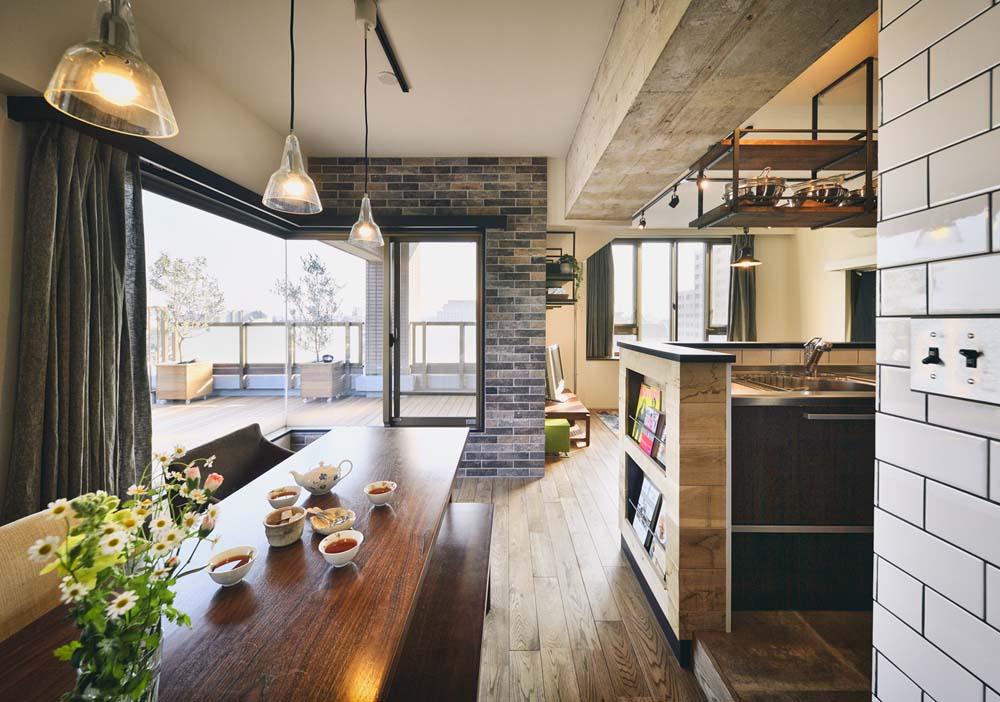 「スタイル工房」のリノベーション事例「マンハッタンのカフェ気分が味わえる素敵な暮らし」