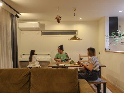 「住工房株式会社」の戸建リノベーション事例「戸建ての中古物件で、より自分らしい理想の家を。経年変化と共に暮らす住まい。」