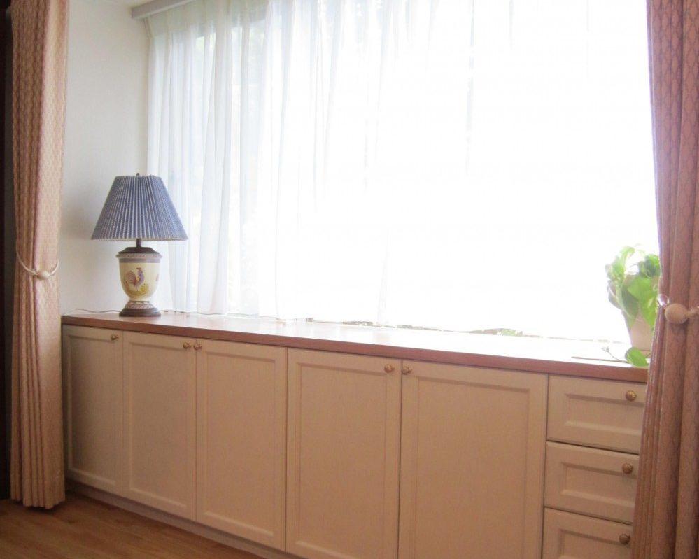 マンションリノベーション、湘南リフォーム 、収納家具、四方框、クラシック扉