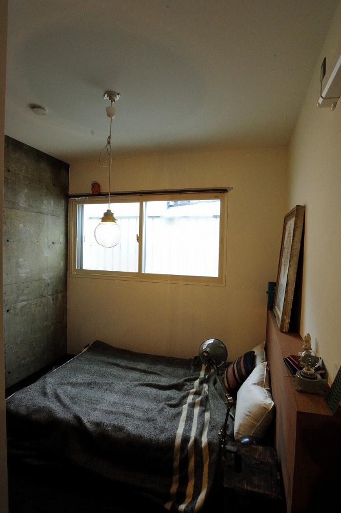 住環境ジャパン,マンションリノベーション,定額制リノベーション,寝室,躯体現し