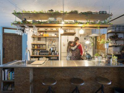 「ゼロリノベ」のリノベーション事例「オープンキッチンが家の中心!理想の暮らしを反映したマンションリノベーション」