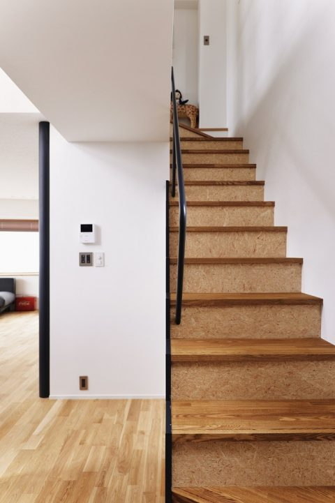 マンションリノベーション、スタイル工房、メゾネットタイプ、階段、インダストリアル、