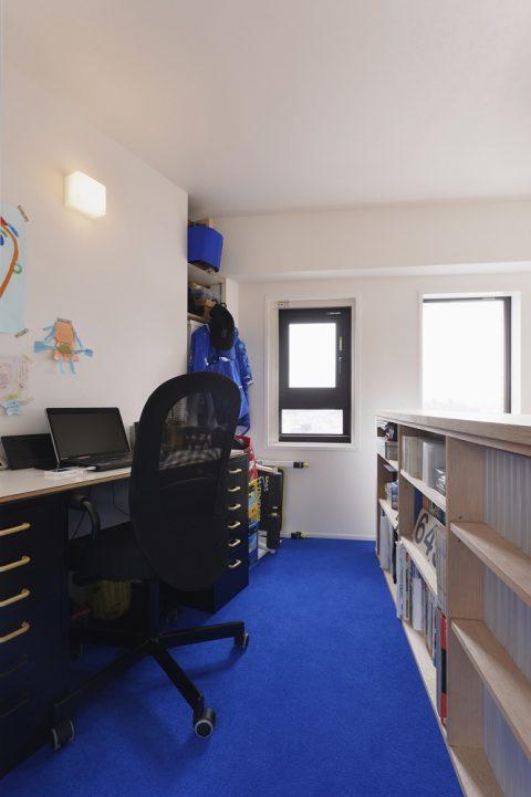 マンションリノベーション、スタイル工房、メゾネットタイプ、書斎、2階スペース、ロフトスペース、