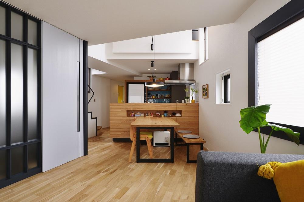 「スタイル工房」のリノベーション事例「遊び心と暮らしやすさのアイデアで、ワクワクが広がる眺望抜群の家」
