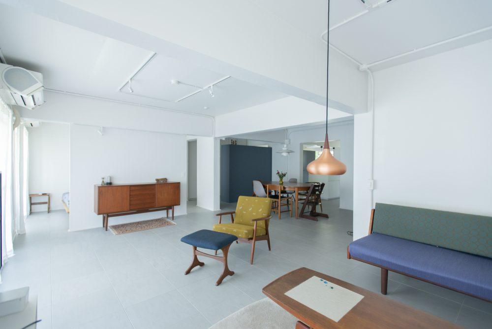 「ゼロリノベ」のリノベーション事例「北欧家具の映える部屋に。フルリノベでデンマークの暮らしを再現」