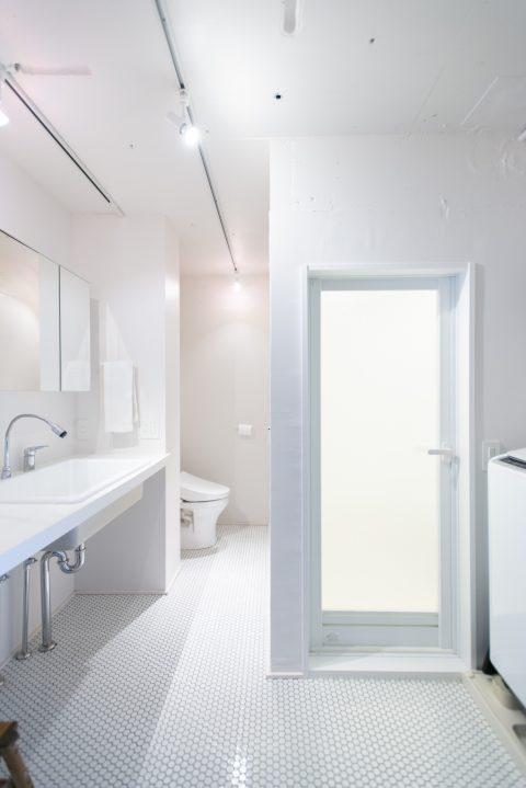 マンションリノベーション、ゼロリノベ、オープントイレ、ツーインワン、ホテルライクサニタリー