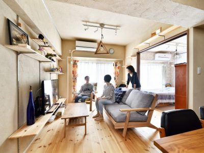 「株式会社 夢工房」のマンションリノベーション事例「お互いが安心できる距離感。二世帯同居のマンションリノベーション」
