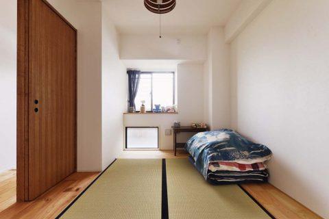 スタイル工房、マンションリノベーション、畳スペース、寝室、