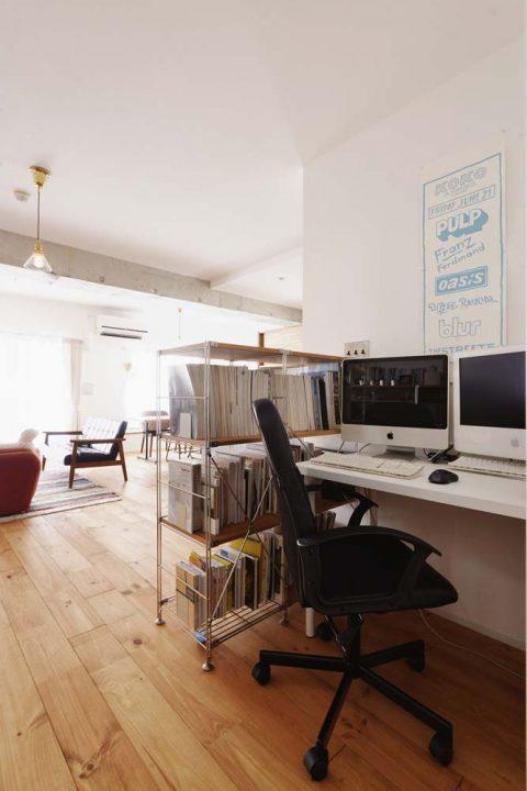 スタイル工房、マンションリノベーション、スタディスペース、書斎スペース、ワークスペース