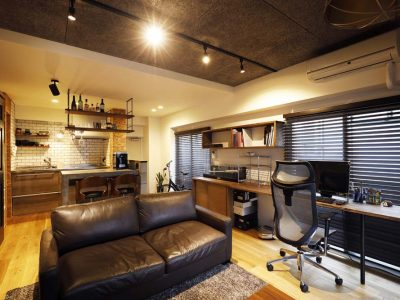 「スタイル工房」のマンションリノベーション事例「暮らしやすさと男前デザインを両立させたヴィンテージマンション」