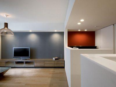 「三井のリフォーム(三井不動産リフォーム)」のリノベーション事例「リビングでも集中できるスタディスペースに!端正な壁と天井で描くマンションリノベーション」