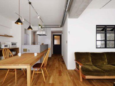 「スタイル工房」のマンションリノベーション事例「空間がつながる!親子がつながる!心に響くアイデアが満載」