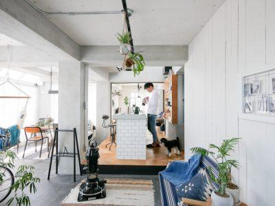 「CLOCK(クロック)」のマンションリノベーション事例「55平米の広さを最大限に活かし、都会的な西海岸テイストでまとめたリノベーション」
