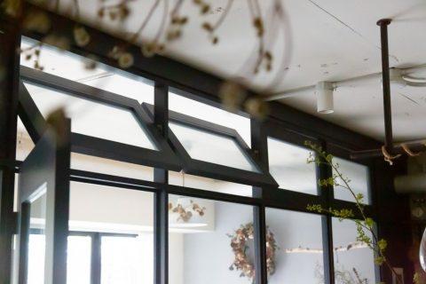 マンションリノベーション、CLOCK(クロック)、室内窓、回転窓、通風