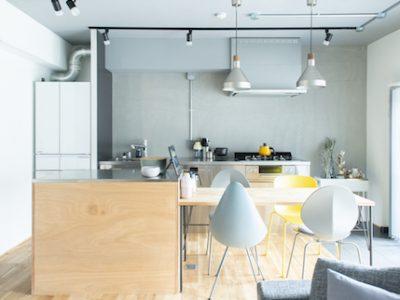 「ゼロリノベ」のマンションリノベーション事例「集中収納で叶えたシンプルリノベ。グレーを基調とした心地よい住まい。」